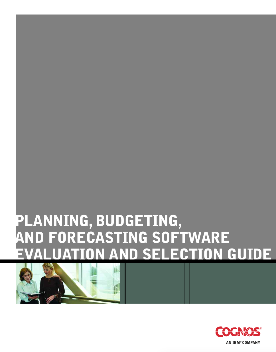 Guide to Selecting a Planning System