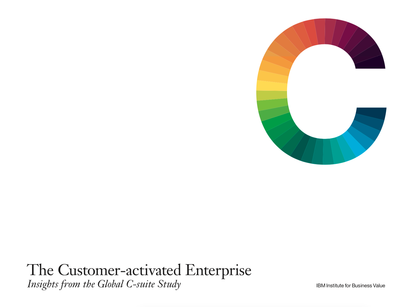 The Customer-activated Enterprise