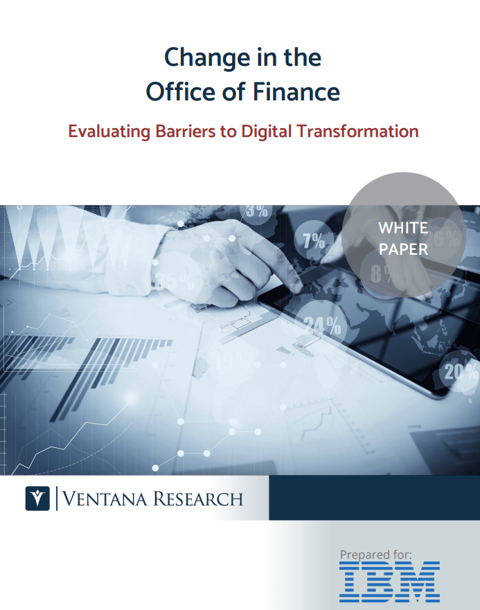 Change in the Office of Finance